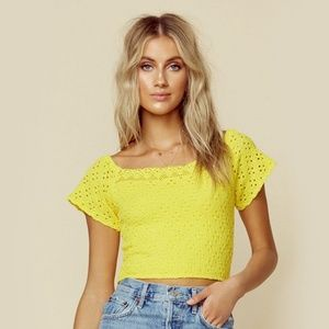 Nightcap Cabo Crop Top